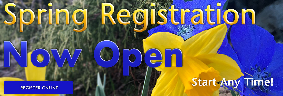 Spring Registration Now Open