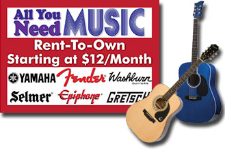 Rent an instrument - Canada's Music Store