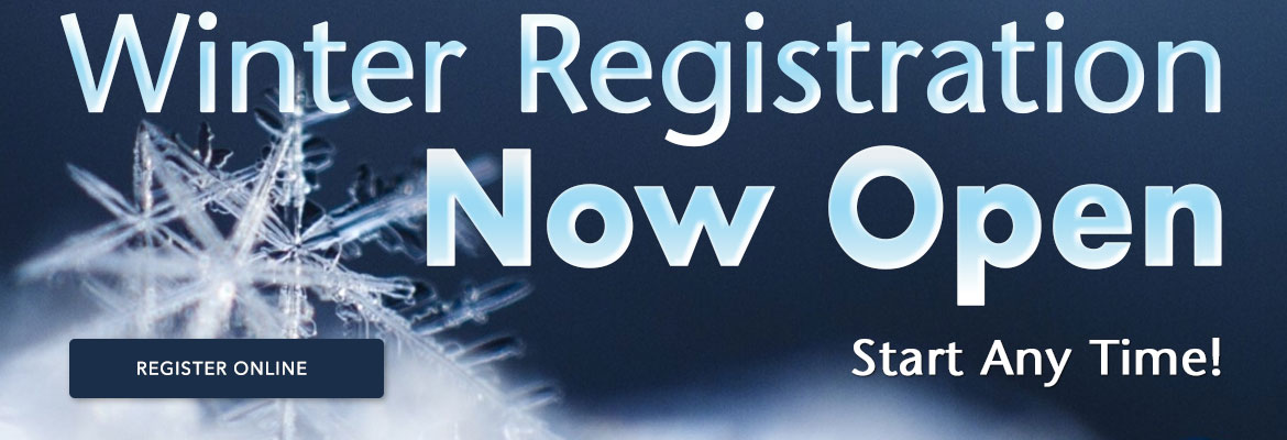 Winter Registration Now Open